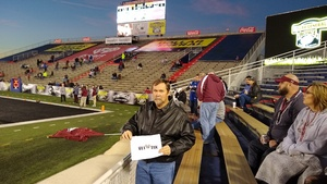 Donald attended 2018 Dollar General Bowl - Sun Belt Conference vs. Mid-american Conference on Dec 22nd 2018 via VetTix