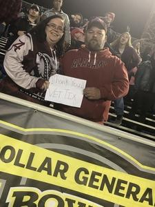 Jeffrey attended 2018 Dollar General Bowl - Sun Belt Conference vs. Mid-american Conference on Dec 22nd 2018 via VetTix