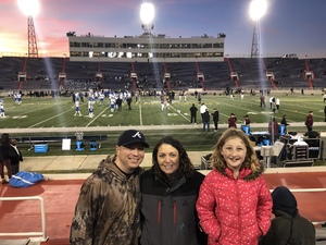 Beau attended 2018 Dollar General Bowl - Sun Belt Conference vs. Mid-american Conference on Dec 22nd 2018 via VetTix