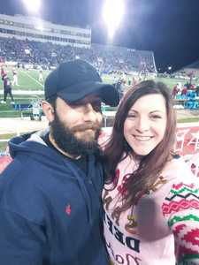 Jess & Logan attended 2018 Dollar General Bowl - Sun Belt Conference vs. Mid-american Conference on Dec 22nd 2018 via VetTix