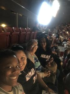 Karen attended Miami Heat vs. Brooklyn Nets - NBA on Nov 20th 2018 via VetTix