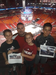 Scott attended Miami Heat vs. Brooklyn Nets - NBA on Nov 20th 2018 via VetTix