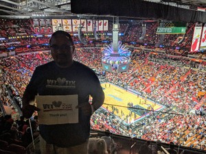 Ryan in Miami, Florida attended Miami Heat vs. Brooklyn Nets - NBA on Nov 20th 2018 via VetTix