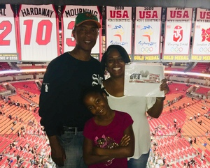 Karriem attended Miami Heat vs. Brooklyn Nets - NBA on Nov 20th 2018 via VetTix