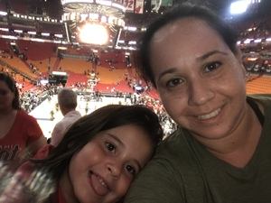 lauren attended Miami Heat vs. Brooklyn Nets - NBA on Nov 20th 2018 via VetTix