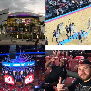 Cody attended Miami Heat vs. Brooklyn Nets - NBA on Nov 20th 2018 via VetTix