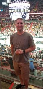 Jerry attended Miami Heat vs. Brooklyn Nets - NBA on Nov 20th 2018 via VetTix