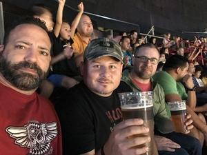 Gus G attended Miami Heat vs. Brooklyn Nets - NBA on Nov 20th 2018 via VetTix
