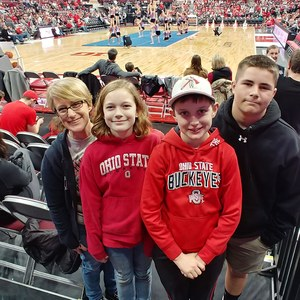 Rebecca attended Ohio State Buckeyes vs. South Carolina State Bulldogs - NCAA Men's Basketball on Nov 18th 2018 via VetTix