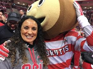 Desiree attended Ohio State Buckeyes vs. South Carolina State Bulldogs - NCAA Men's Basketball on Nov 18th 2018 via VetTix