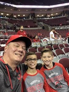 Steven attended Ohio State Buckeyes vs. South Carolina State Bulldogs - NCAA Men's Basketball on Nov 18th 2018 via VetTix
