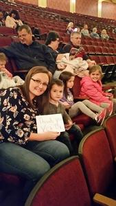 Christy attended Peppa Pig Live! on Nov 21st 2018 via VetTix