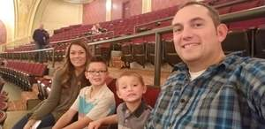 Zachary attended Peppa Pig Live! on Nov 21st 2018 via VetTix