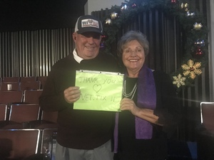 Terry attended An Evening With Petula Clark on Nov 30th 2018 via VetTix