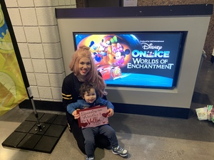Gray Family attended Disney on Ice Presents Worlds of Enchantment - Ice Shows on Feb 14th 2019 via VetTix