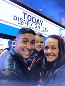 Francis attended Disney on Ice Presents Worlds of Enchantment - Ice Shows on Feb 14th 2019 via VetTix