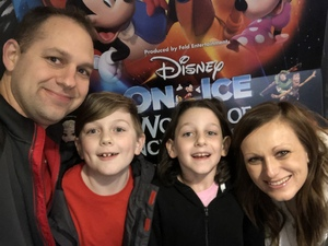 Marc attended Disney on Ice Presents Worlds of Enchantment - Ice Shows on Feb 14th 2019 via VetTix