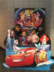 Mia attended Disney on Ice Presents Worlds of Enchantment - Ice Shows on Feb 14th 2019 via VetTix