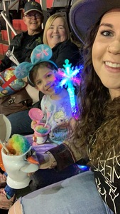 Steven attended Disney on Ice Presents Worlds of Enchantment - Ice Shows on Feb 14th 2019 via VetTix