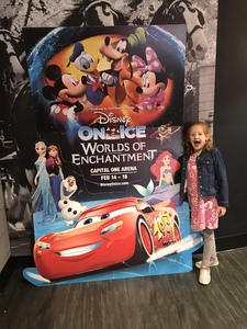 Shawn attended Disney on Ice Presents Worlds of Enchantment - Ice Shows on Feb 14th 2019 via VetTix