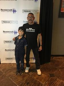 Jose attended So You Think You Can Dance Live! 2018 - Pop on Nov 23rd 2018 via VetTix