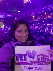 Maria Cubaf attended So You Think You Can Dance Live! 2018 - Pop on Nov 23rd 2018 via VetTix