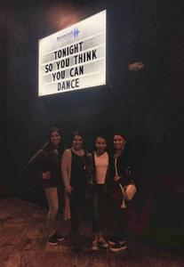 Nancy attended So You Think You Can Dance Live! 2018 - Pop on Nov 23rd 2018 via VetTix