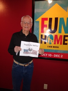 Glenn attended Phoenix Theatre Presents - Fun Home - Matinee on Nov 24th 2018 via VetTix