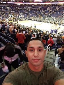Joshua attended Phoenix Suns vs. Indiana Pacers - NBA on Nov 27th 2018 via VetTix