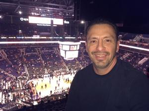 Arcenio attended Phoenix Suns vs. Indiana Pacers - NBA on Nov 27th 2018 via VetTix
