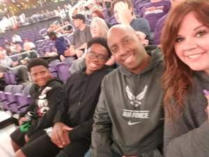 Rodrick attended Phoenix Suns vs. Indiana Pacers - NBA on Nov 27th 2018 via VetTix