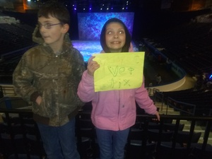 Bernard attended Disney on Ice Presents Worlds of Enchantment on Jan 17th 2019 via VetTix