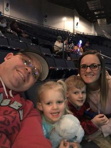 Michael attended Disney on Ice Presents Worlds of Enchantment on Jan 17th 2019 via VetTix