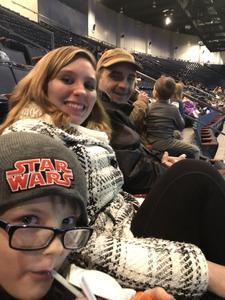 Timothy attended Disney on Ice Presents Worlds of Enchantment on Jan 17th 2019 via VetTix