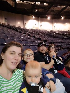 Jason attended Disney on Ice Presents Worlds of Enchantment on Jan 17th 2019 via VetTix