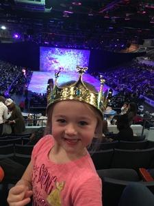 Christopher attended Disney on Ice Presents Worlds of Enchantment on Jan 17th 2019 via VetTix