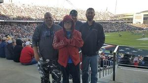 Brad attended Lockhead Martin Armed Forces Bowl - NCAA Football on Dec 22nd 2018 via VetTix