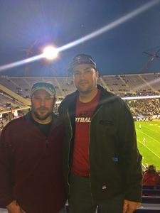 Aaron Saunders attended Lockhead Martin Armed Forces Bowl - NCAA Football on Dec 22nd 2018 via VetTix