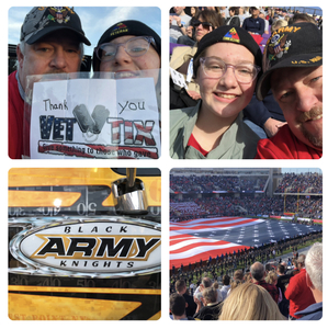 Robert attended Lockhead Martin Armed Forces Bowl - NCAA Football on Dec 22nd 2018 via VetTix