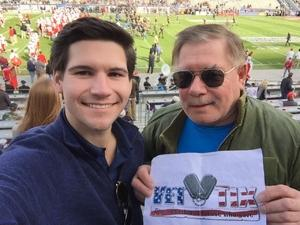 mike attended Lockhead Martin Armed Forces Bowl - NCAA Football on Dec 22nd 2018 via VetTix