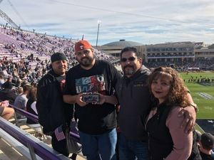Juan attended Lockhead Martin Armed Forces Bowl - NCAA Football on Dec 22nd 2018 via VetTix