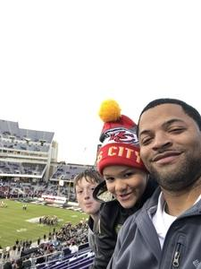 Ricky Mahaney attended Lockhead Martin Armed Forces Bowl - NCAA Football on Dec 22nd 2018 via VetTix