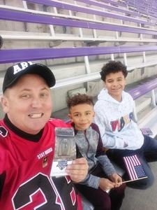 Gabriel attended Lockhead Martin Armed Forces Bowl - NCAA Football on Dec 22nd 2018 via VetTix