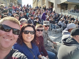 Daniel attended Lockhead Martin Armed Forces Bowl - NCAA Football on Dec 22nd 2018 via VetTix