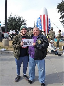 Roque attended Lockhead Martin Armed Forces Bowl - NCAA Football on Dec 22nd 2018 via VetTix