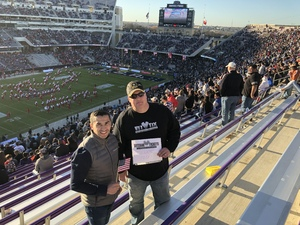 Eugene attended Lockhead Martin Armed Forces Bowl - NCAA Football on Dec 22nd 2018 via VetTix