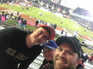 Allen attended Lockhead Martin Armed Forces Bowl - NCAA Football on Dec 22nd 2018 via VetTix