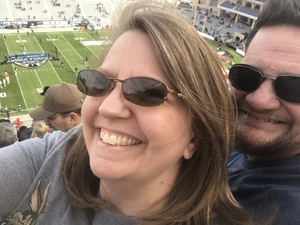Jeffrey attended Lockhead Martin Armed Forces Bowl - NCAA Football on Dec 22nd 2018 via VetTix