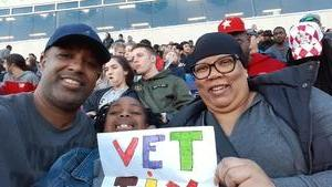 willie attended Lockhead Martin Armed Forces Bowl - NCAA Football on Dec 22nd 2018 via VetTix