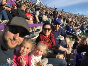 Anthony attended Lockhead Martin Armed Forces Bowl - NCAA Football on Dec 22nd 2018 via VetTix